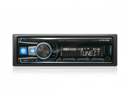 Alpine UTE-92BT USB MP3 magnetola su Bluetooth ir Aux įėjimu