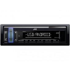 JVC KD-X161 USB MP3 magnetola su AUX įėjimu ir USB