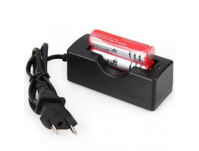 Ultrafire įkraunamos baterijos 18650 su įkrovikliu