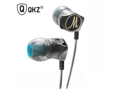 QKZ DM7 ausinukai su mikrofonu