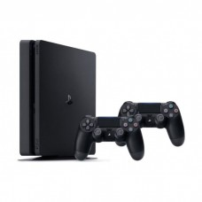 Sony Playstation 4 slim 500GB + 2x pultai + Fifa 2021