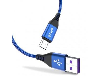 1m micro USB laidas